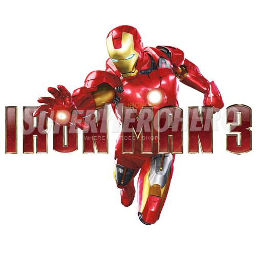 Designs Iron Man Iron on Transfers (Wall & Car Stickers) No.4593